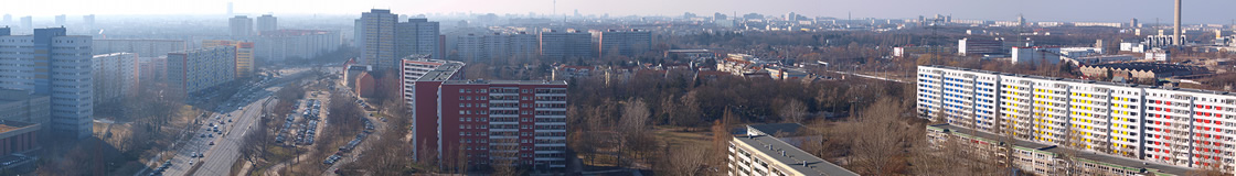 Berlin – Östliche Stadtteile