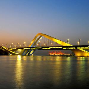 Sheikh-Zayed-Brücke