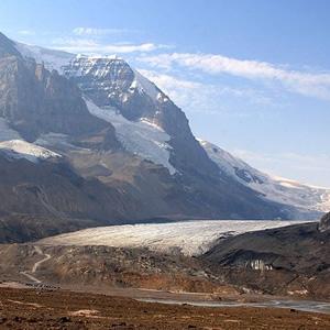 Athabasca-Gletscher