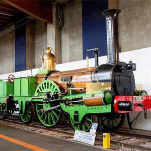 Eisenbahnmuseum Mülhausen