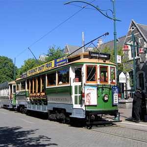 Straßenbahn Christchurch